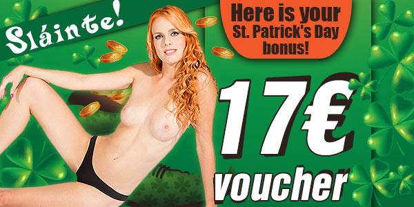 St. Patrick's Day voucher